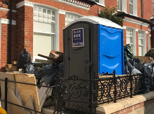 portable toilet hire east london