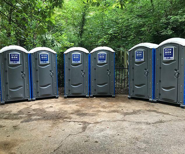 portable toilet hire south london