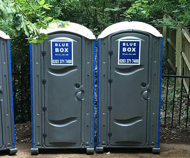 portable toilet hire north london
