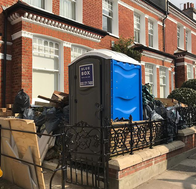 portable toilet hire shoreditch